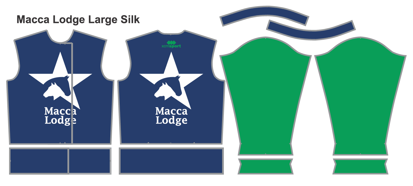 The new Macca Lodge colours